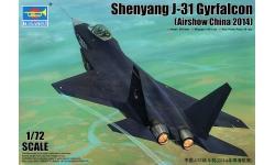 FC-31 (J-31, F-60) SAC, AVIC - TRUMPETER 01666 1/72