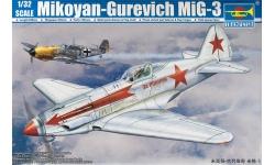 МиГ-3 Микоян и Гуревич - TRUMPETER 02230 1/32