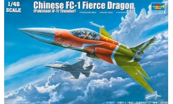 JF-17 Block 1 PAC, Thunder / FC-1 CAC, Xiaolong - TRUMPETER 02815 1/48