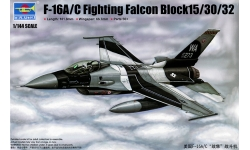 F-16A/C General Dynamics, Fighting Falcon - TRUMPETER 03911 1/144