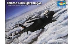 J-20 Chengdu Aircraft Corporation (CAC) - TRUMPETER 03923 1/144