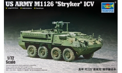 M1126 ICV, General Dynamics, Stryker - TRUMPETER 07255 1/72