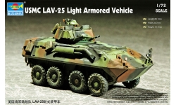 LAV-25 GDLS-C, Light Armored Vehicle - TRUMPETER 07268 1/72