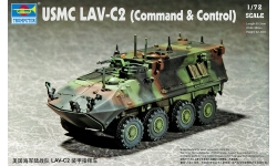 LAV-C2 GDLS-C, Light Armored Vehicle - TRUMPETER 07270 1/72