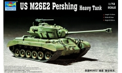 M26E2, Pershing - TRUMPETER 07299 1/72