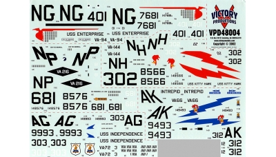 A-4C/E Douglas, Skyhawk - VICTORY PRODUCTIONS VPD48004 1/48