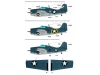 F4F-4 Grumman, Wildcat - WOLFPACK DESIGN WD48001 1/48