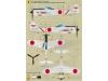 Ki-43-IIa (Kou) & IIb (Otsu) Nakajima, Hayabusa - WOLFPACK DESIGN WD48009 1/48