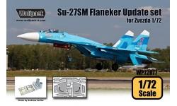 Су-27СМ Сухой. Конверсионный набор (ЗВЕЗДА) - WOLFPACK DESIGN WP72077 1/72