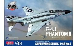 F-4J McDonnell Douglas, Phantom II - ZOUKEI-MURA Super Wing Series 1/48 No. 4