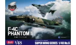 F-4C McDonnell Douglas, Phantom II - ZOUKEI-MURA Super Wing Series 1/48 No. 6