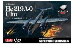 He 219A-0 Heinkel, Uhu - ZOUKEI-MURA Super Wing Series 1/32 No. 6 PREORD