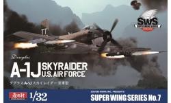 A-1J (AD-7) Douglas, Skyraider - ZOUKEI-MURA Super Wing Series 1/32 No. 7 PREORD
