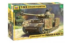 Panzerkampfwagen IV, Sd.Kfz.161/2, Ausf. H, T-IV, Krupp - ЗВЕЗДА 3620 1/35