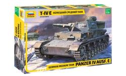 Panzerkampfwagen IV, Sd.Kfz.161, Ausf. E, T-IV, Krupp - ЗВЕЗДА 3641 1/35