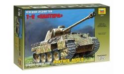 Panther, Panzerkampfwagen V, Sd.Kfz. 171, Ausf. D, MAN - ЗВЕЗДА 3678 1/35