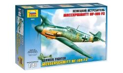 Bf 109F-2 Messerschmitt - ЗВЕЗДА 4802 1/48
