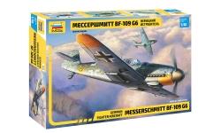 Bf 109G-6 Messerschmitt - ЗВЕЗДА 4816 1/48