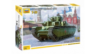 Т-35A - ЗВЕЗДА 5061 1/72