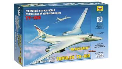Ту-160 Туполев - ЗВЕЗДА 7002 1/144