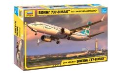 Boeing 737 MAX 8 - ЗВЕЗДА 7026 1/144