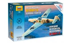 Bf 109F-2 Messerschmitt - ЗВЕЗДА 7302 1/72