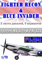 Spitfire Mk XIVe & P.R. XIX Supermarine - FUJIMI 722733 F-60 1/72