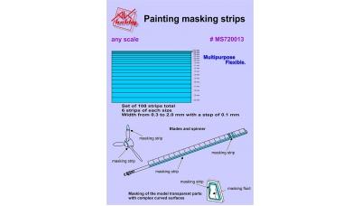 Полоски маскирующие окрасочные - AK-HOBBY MS720013