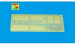 Фототравление для PzKpfw IV, Sd.Kfz.161 (бронеограждение башни) - ABER 35A006 1/35