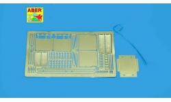 Фототравление для Tiger I, PzKpfw VI, Sd.Kfz. 181, Henschel (грязевые щитки) - ABER 35A010 1/35