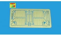 Фототравление для Panther, PzKpfw V, Sd.Kfz. 171, Ausf. A/D, MAN (передние грязевые щитки) - ABER 35A031 1/35