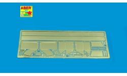 Фототравление для СУ-85/100/122 (надгусеничные полки и грязевые щитки) - ABER 35A078 1/35