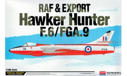 Hunter F.6/FGA.9 Hawker Siddeley - ACADEMY 12312 1/48