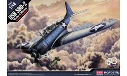 SBD-2 Douglas, Dauntless - ACADEMY 12335 1/48