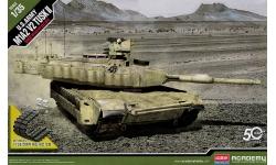 M1A2 SEP v2 TUSK II General Dynamics, Abrams - ACADEMY 13504 1/35