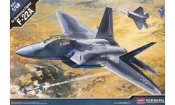 F-22A Lockheed Martin, Raptor - ACADEMY 12212 1/48