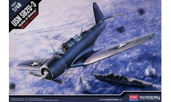 SB2U-3 Vought, Vindicator - ACADEMY 12324 1/48