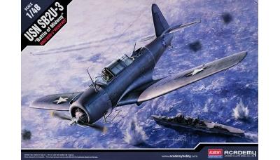 SB2U-3 Vought, Vindicator - ACADEMY 12324 1/48