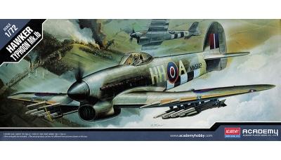 Typhoon Mk. Ib Hawker - ACADEMY 12462 1/72