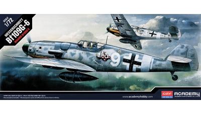 Bf 109G-6 Messerschmitt - ACADEMY 12467 1/72