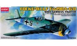 Fw 190A-6/A-8 Focke-Wulf - ACADEMY 12480 1/72