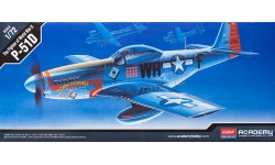 P-51D North American Aviation, Mustang - ACADEMY 12485 1/72