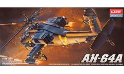 AH-64A Boeing, McDonnell Douglas, Apache - ACADEMY 12488 1/72
