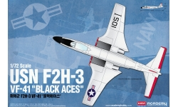 F2H-3 (F-2C) McDonnell, Banshee - ACADEMY 12548 1/72