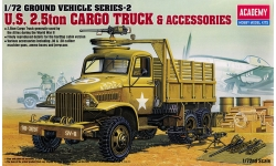 GMC CCKW 353 2½-ton 6x6 Cargo Truck (G-508), Jimmy - ACADEMY 13402 1/72