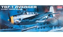 TBF-1 Grumman, Avenger - ACADEMY 12452 (1651) 1/72