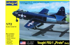 F6U-1 Chance Vought, Pirate - ADMIRAL ADM7211 1/72