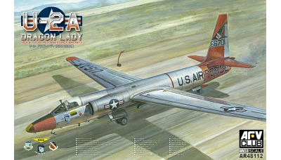 U-2A Lockheed, Dragon Lady - AFV CLUB AR48112 1/48