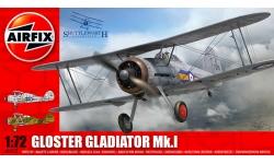 Gladiator Mk. I Gloster - AIRFIX A02052 1/72