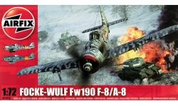 Fw 190A-8/F-8 Focke-Wulf - AIRFIX A02066 1/72